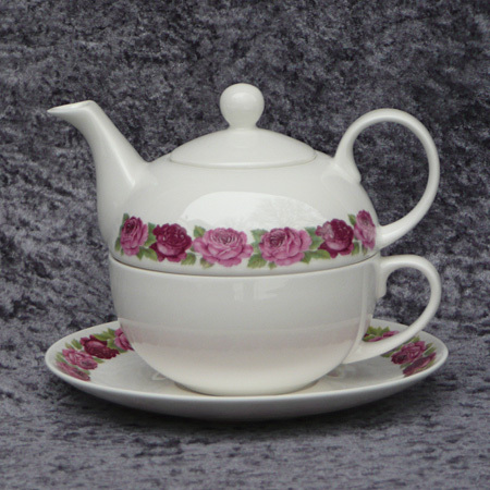 rb 540 rosenband tea for one porzellan a h warnecke gmbh. Black Bedroom Furniture Sets. Home Design Ideas