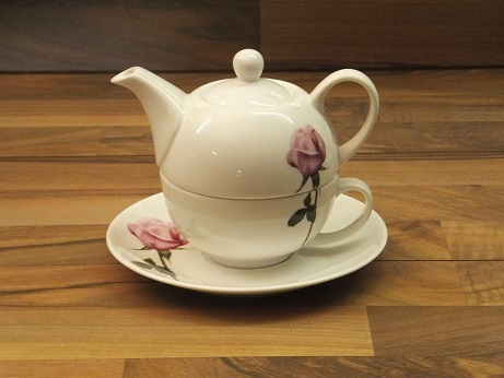 ros 540 rose rosa tea for one porzellan a h warnecke gmbh. Black Bedroom Furniture Sets. Home Design Ideas
