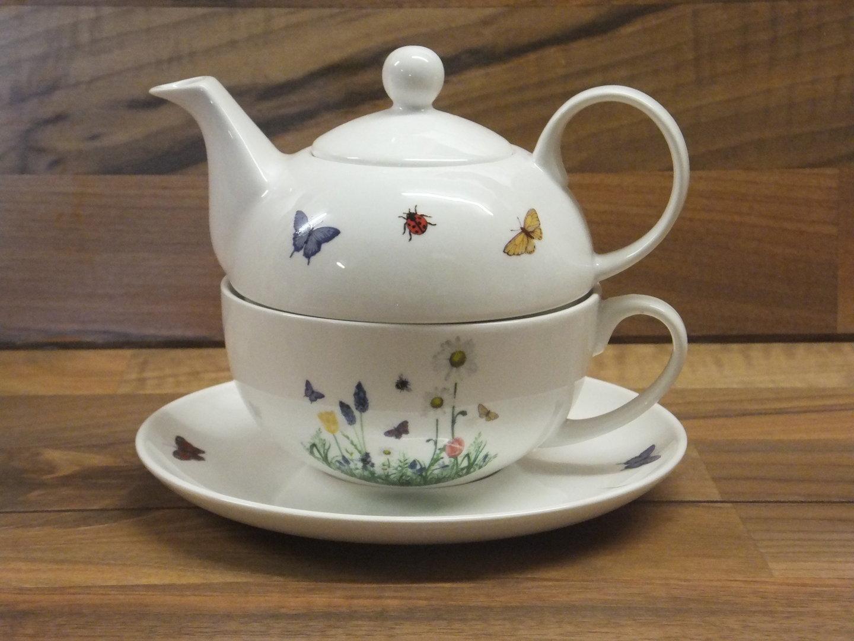 fw 540 fr hlingswiese tea for one porzellan a h warnecke gmbh. Black Bedroom Furniture Sets. Home Design Ideas