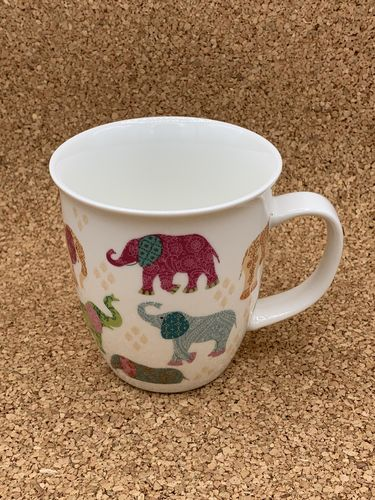 EL 551 / Elefant / New Bone China Becher 0,4l