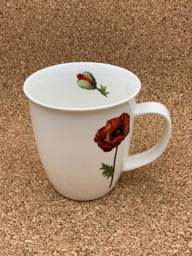 MO 551 / Mohn / New Bone China Becher 0,4L
