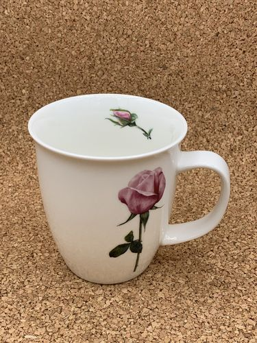 RO 551 / Rose / New Bone China Becher 0,4L