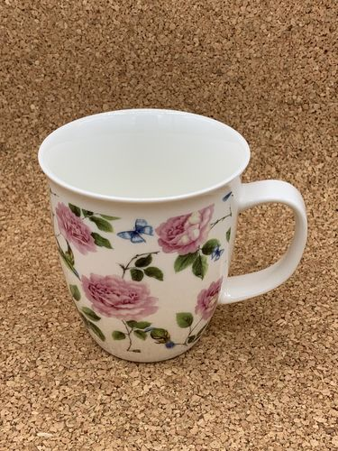 RR 551 / Rosenranke / New Bone China Becher 0,4L